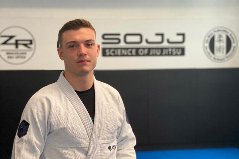 Trainer Dominik Zeisler, BJJ Kinder Wien, Science of Jiu Jitsu